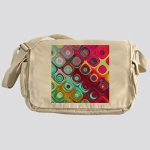 c47dd81a2 Megafunky Rainbow patterns Messenger Bag