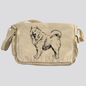 Samoyed Messenger Bag