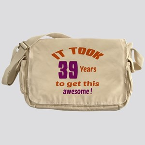 It took 39 years to get this Awesome Messenger Bag