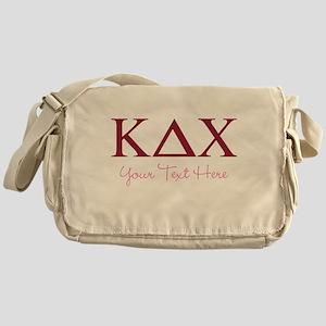 Kappa Delta Chi Personalized Messenger Bag