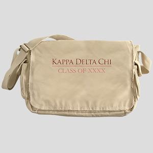 Kappa Delta Chi Class Messenger Bag