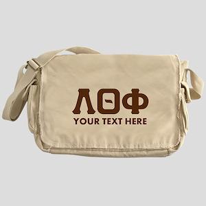 Lambda Theta Phi Letters Personalize Messenger Bag