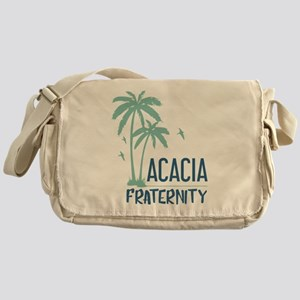 Acacia Palm Tree Messenger Bag