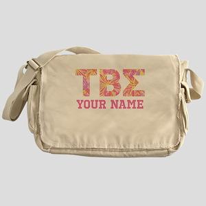 Tau Beta Sigma Letters Messenger Bag