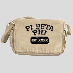 Pi Beta Phi Athletic Messenger Bag
