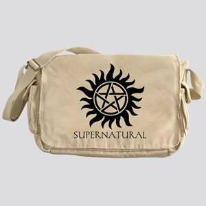 Supernatural Logo Messenger Bag