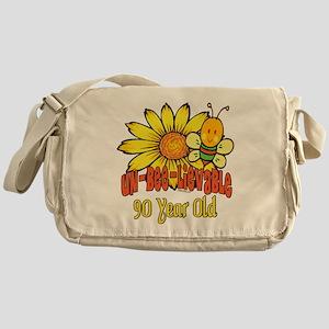 Un-Bee-Lievable 90th Messenger Bag