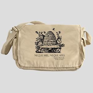 Latin Bees Proverb Messenger Bag