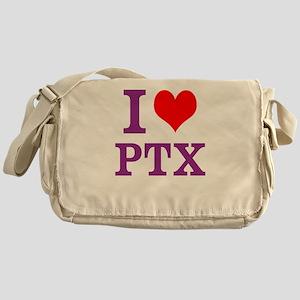 I Love PTX Messenger Bag