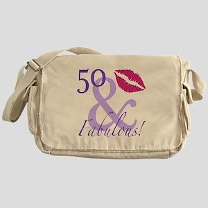 50 And Fabulous! Messenger Bag