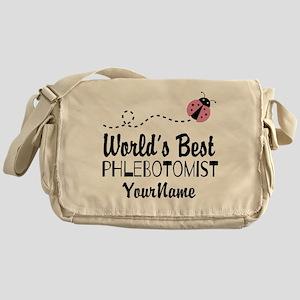 World's Best Phlebotomist Messenger Bag