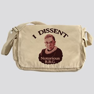 Notorious RBG -p Messenger Bag
