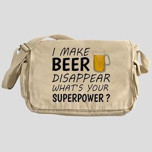 I Make Beer Disappear Messenger Bag