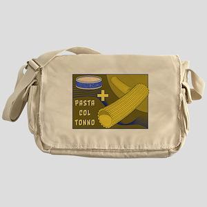 Pasta col tonno Messenger Bag