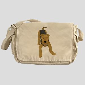 Airedale Messenger Bag