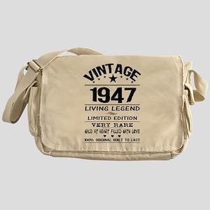 VINTAGE 1947-LIVING LEGEND Messenger Bag