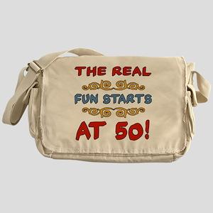 RealFun50 Messenger Bag
