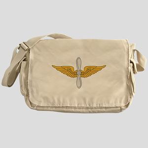 Aviation Branch Insignia Messenger Bag
