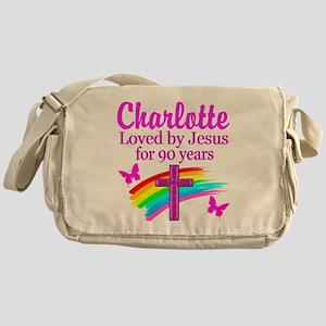 CHRISTIAN 90TH Messenger Bag