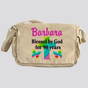 90 YR OLD BLESSING Messenger Bag