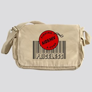 AIDS/HIV FINDING A CURE Messenger Bag