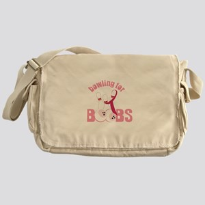 Bowling For Boobs Messenger Bag
