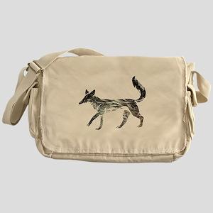 The Aging Silver Fox Messenger Bag