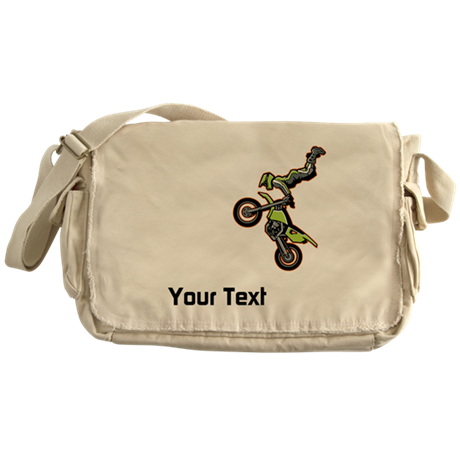 Motorbike Jump Messenger Bag