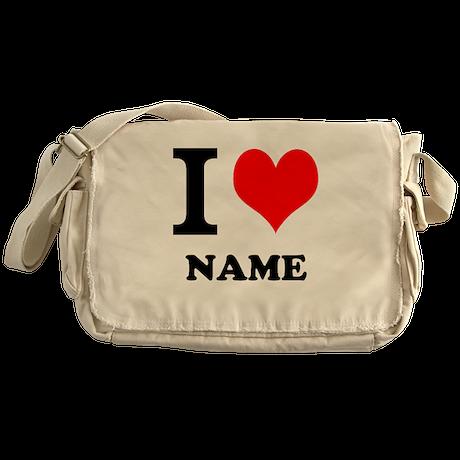 I Heart Messenger Bag