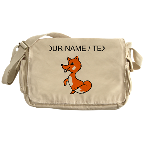 Custom Baby Red Fox Messenger Bag