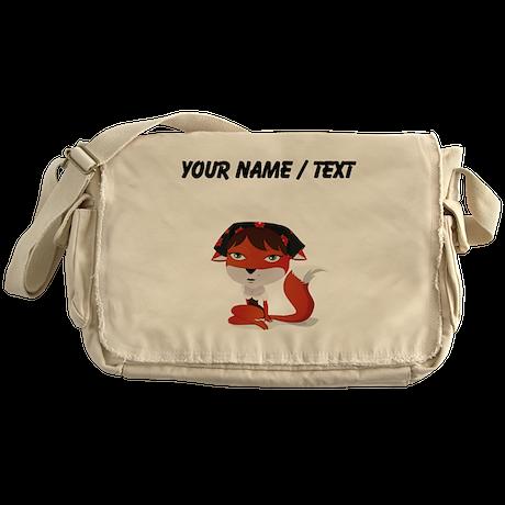 Custom Sexy Fox Messenger Bag
