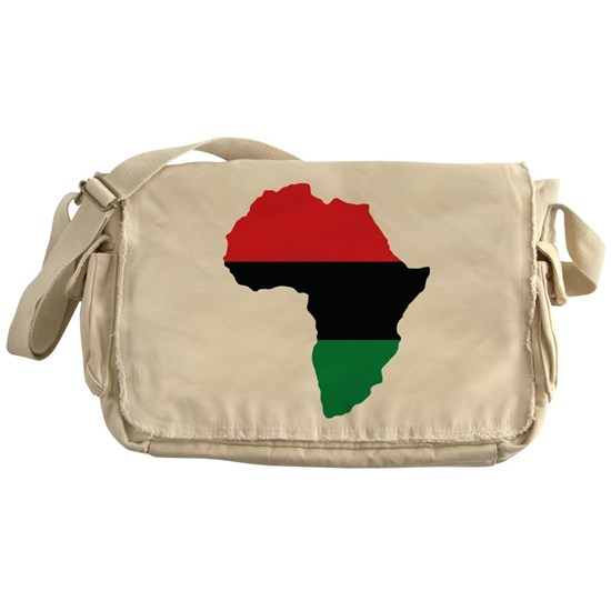 Red, Black and Green Africa Flag