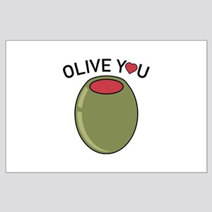 Olive You Large Poster