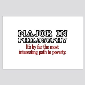 Major in Philosophy Large Poster
