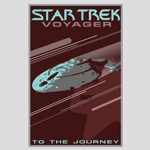 Retro Star Trek: VOY Poster Large Poster