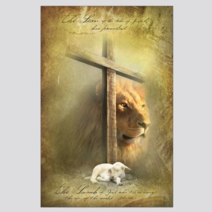 Large Poster - Lion of Judah, Lamb of God