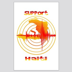 Support Haiti Large Poster
