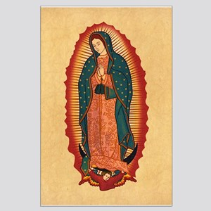 Virgin Of Guadalupe Large Poster