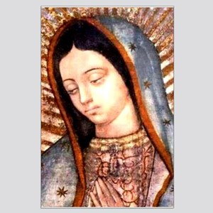 Guadalupe Virgin Mary Posters Large Poster