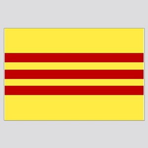 Flag of Vietnam Large Poster