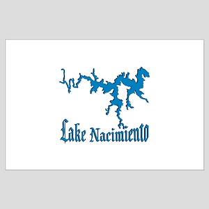 NACI_11_BLUE Large Poster