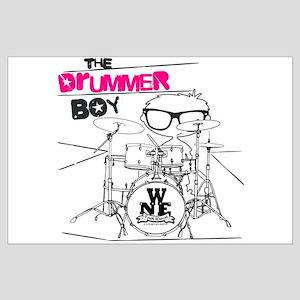 Drummer Boy Large Poster