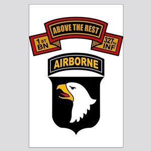 1-327th - 101st Large Poster