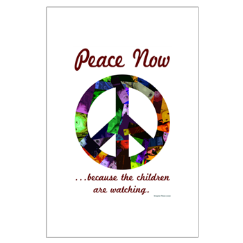 Posters Peace Now For The Kids The Peace Sign Time For Peace