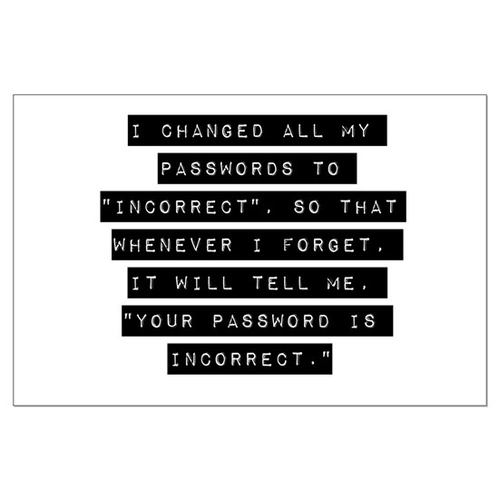 I Changed All My Passwords
