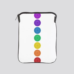 seven chakras vertical center iPad Sleeve