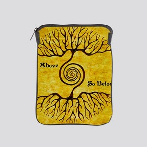 As Above So Below Color Print iPad Sleeve