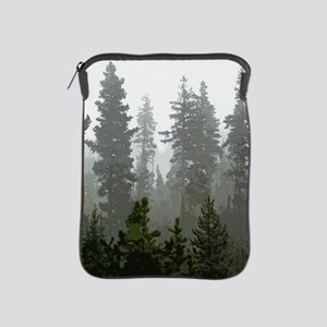 Misty pines iPad Sleeve