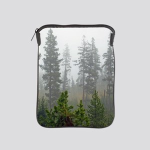 Misty forest iPad Sleeve