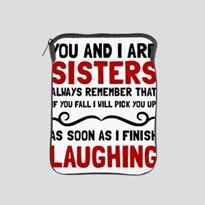 Sisters Laughing iPad Sleeve
